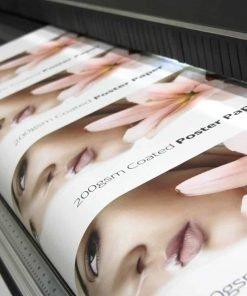 Premium Silk Poster Printing