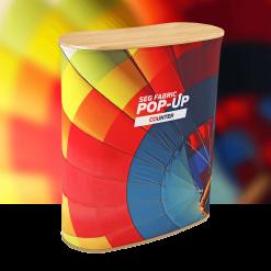 SEG Fabric Pop-Up Counter