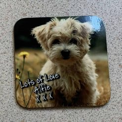 Personalised Square Coasters set of 6