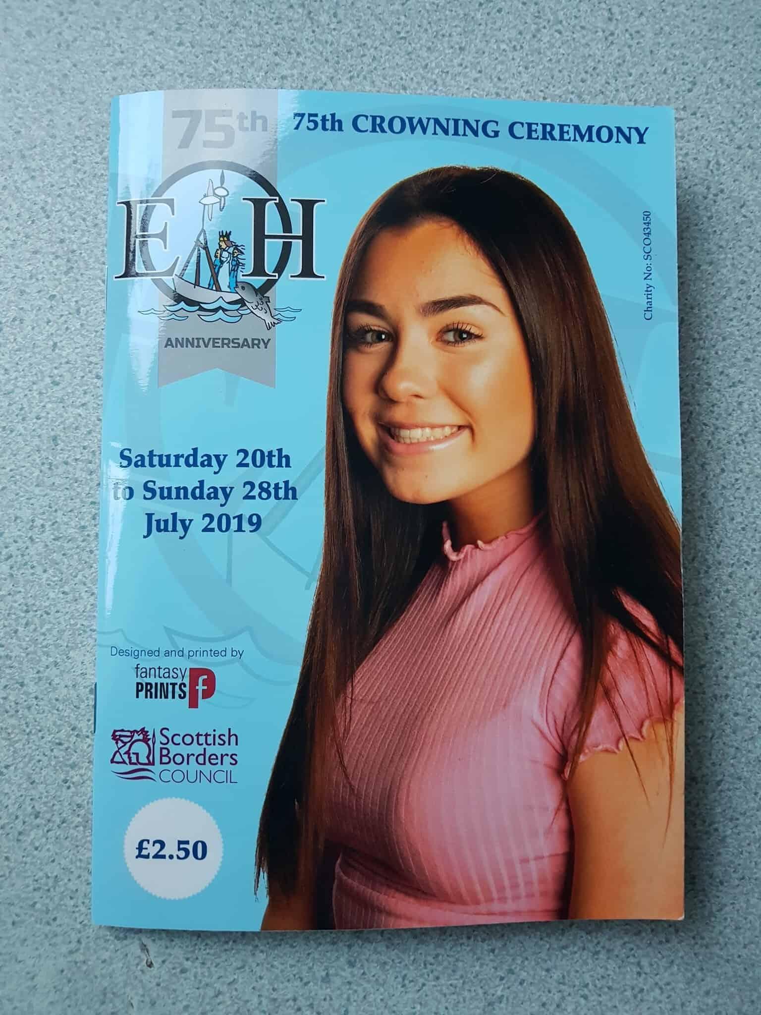 Eyemouth Herring Queen 2019 Programme