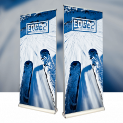 Edge 2 Double Sided Roller Banner
