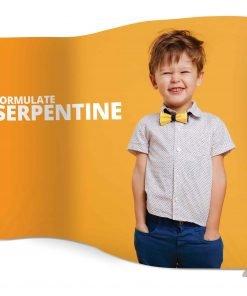 Formulate Serpentine Fabric Exhibition Stand