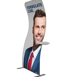 Formulate Curl Fabric Display Stand