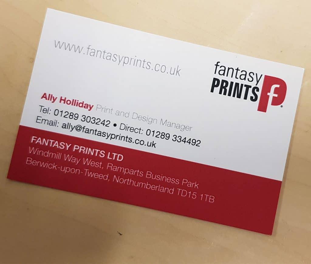 Premium Laminated Business Cards Printed