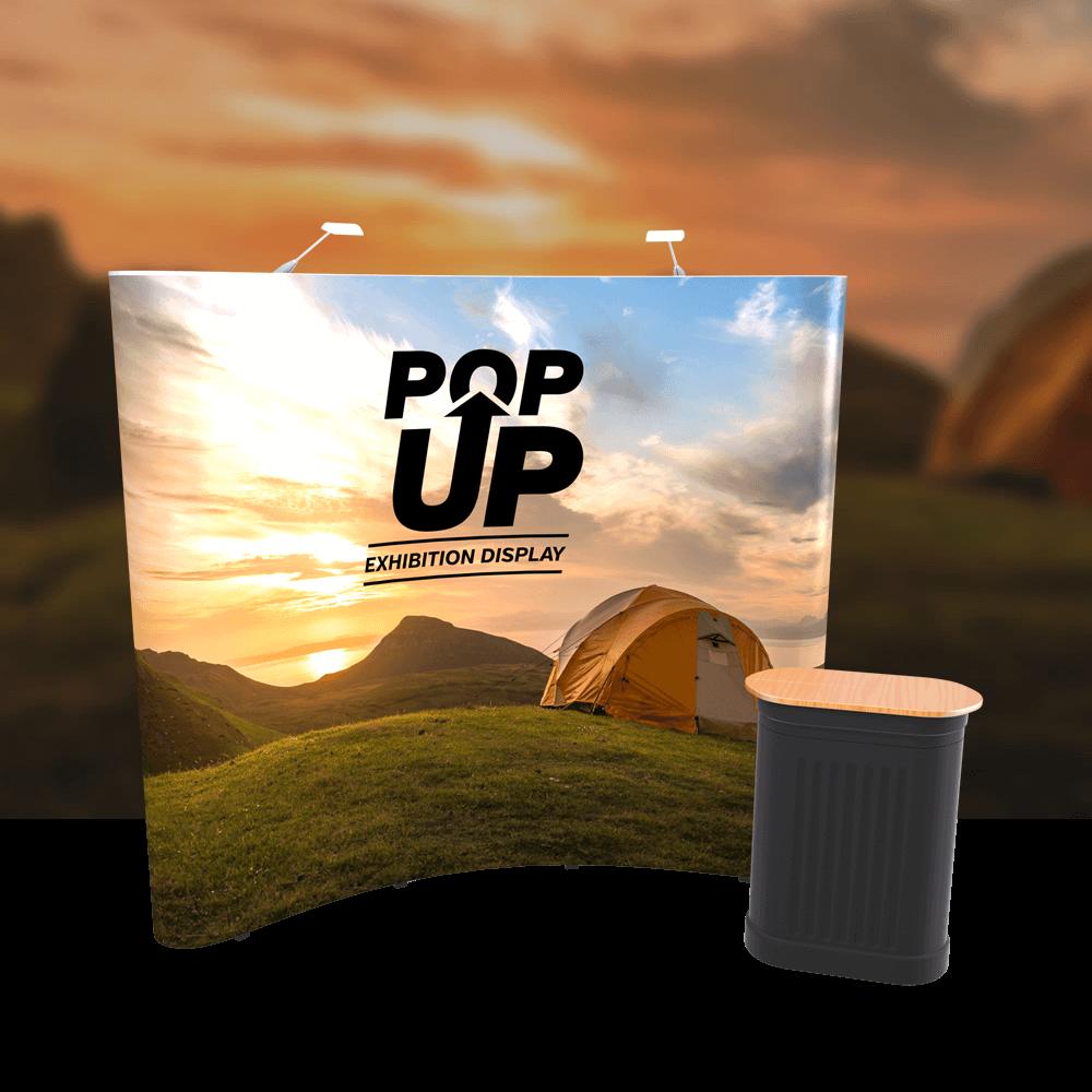 3x3 Pop up exhibition stand