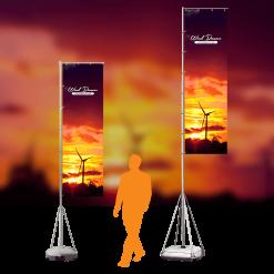Wind Dancer Outdoor Sail Flag Stand