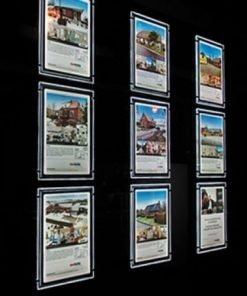 LED A3 Estate Agent Window System