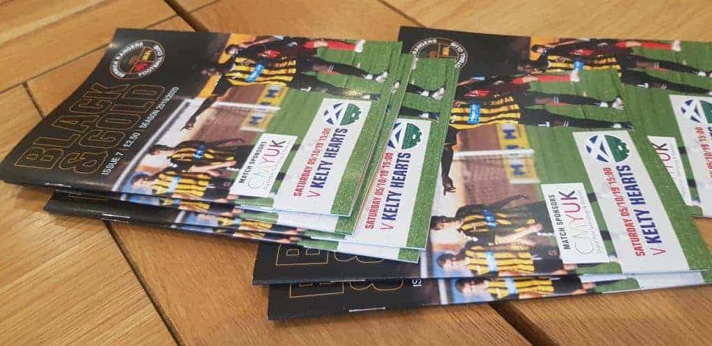 Berwick Rangers Programme