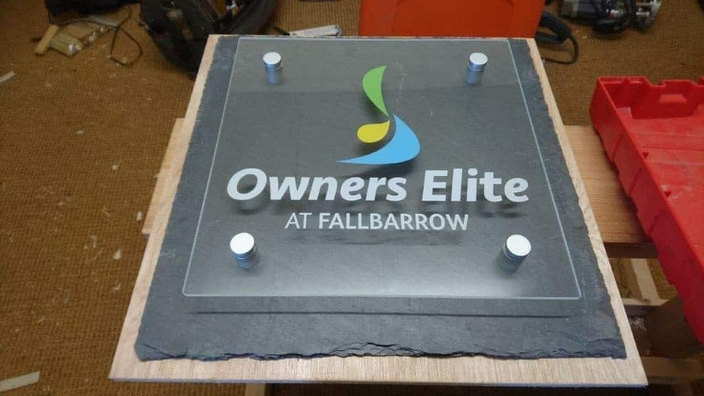 Plaques Printed - Owners Elite Outdoor Plaque manufactured by Fantasy Prints