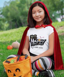 Personalised Kids Halloween T-shirt