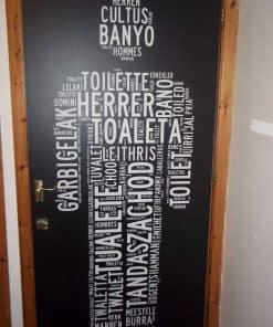 Door Graphics Printed