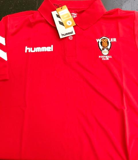 Wooler FC Hummel Football Kit