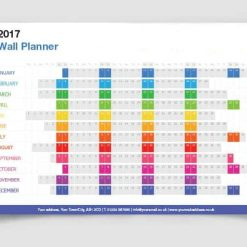 2020 Wall Planners Personalised Printed