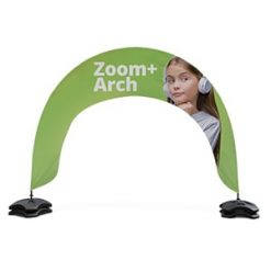 Zoom Plus Arch Outdoor Event Banner