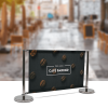 Deluxe Café Barrier Divider Kit