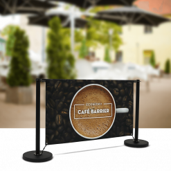 Economy Café Barrier 1500mm KIT
