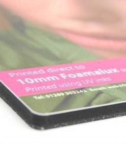 Foamalux Xtra Recycled PVC Board Printing