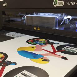 vutek printing correx boards