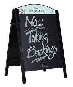 Premium Chalk A Board Pavement Sign