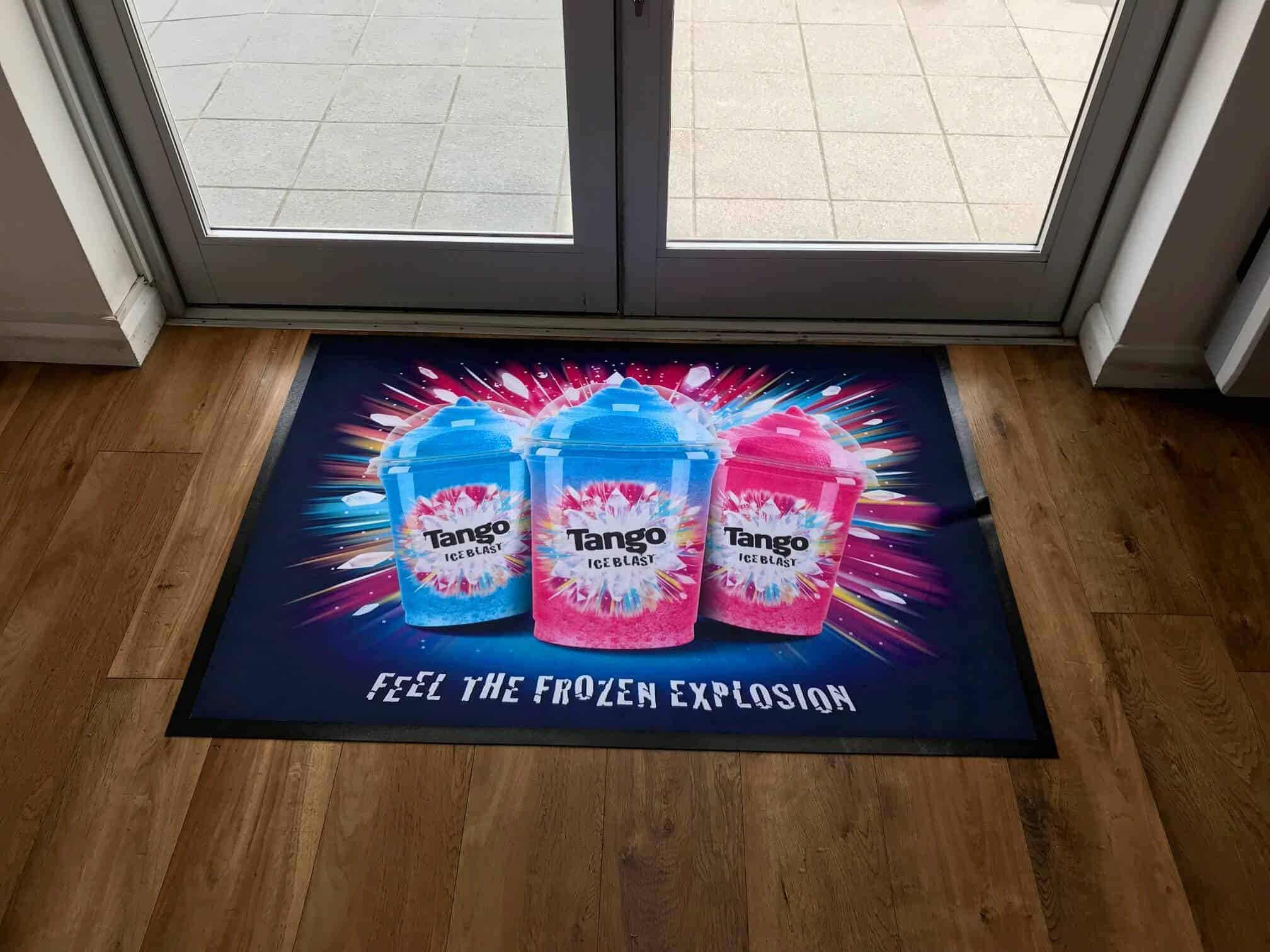 Printed Logo Floor Mats