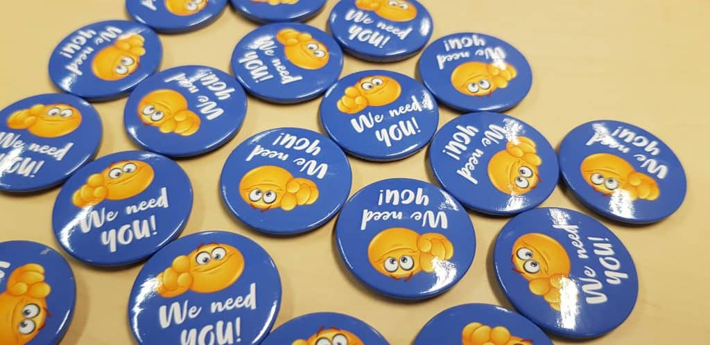 Pin Badges Manufactured