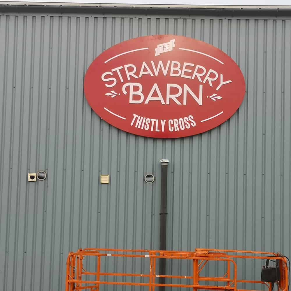 Stawberry Barn Sign5