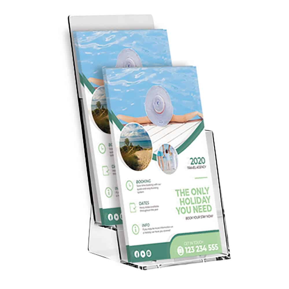 Desktop Multi Tier Leaflet Holders Amazing Prices Fantasy Prints