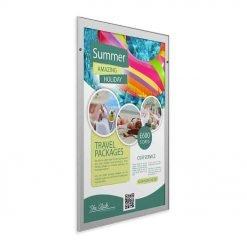 Hi-Sight Pull Down Poster Cartridge Display System