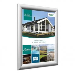 Silver Snap Frames Various Sizes