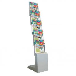 Spacemaster Brochure Display – Easy to Assemble – Looks Amazing