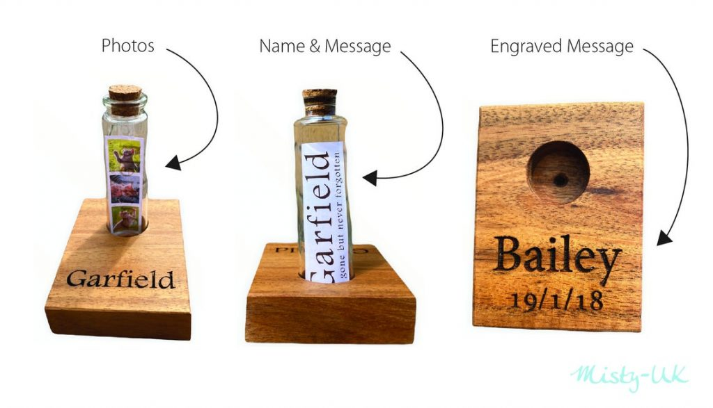 Personalised Photo Message in a Bottle